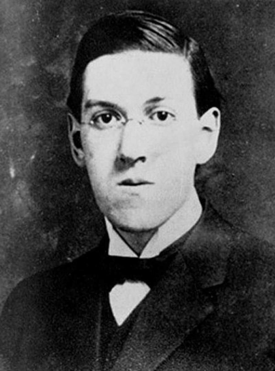 Lovecraft - his absurd and weird horror stories are a must-read for every true horror fan