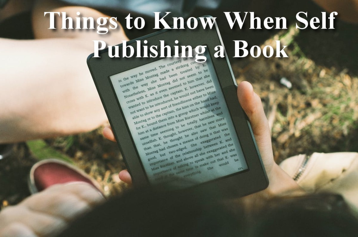 7 Things to Know When Self Publishing a Book