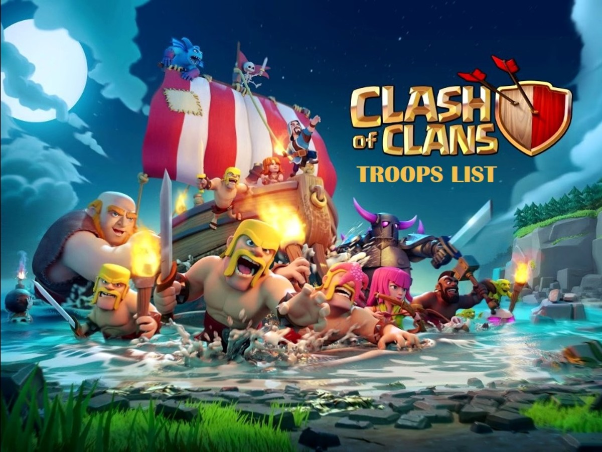 Clash of Clans Troops List