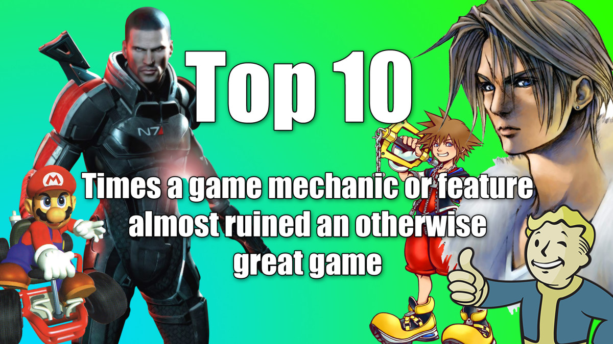 Top 10 Times a Game Mechanic or Feature Almost Ruined an Otherwise Great Game