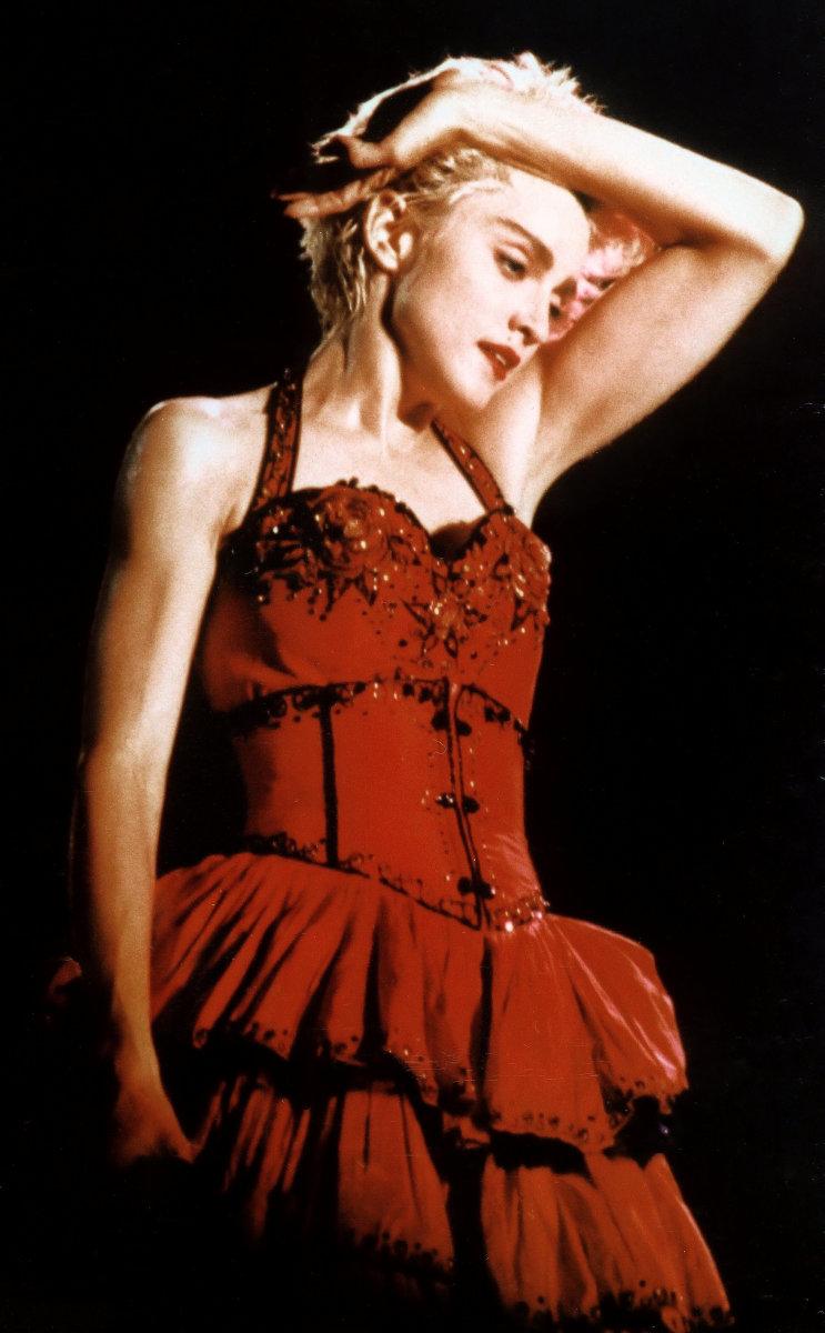 Madonna—1980s icon.