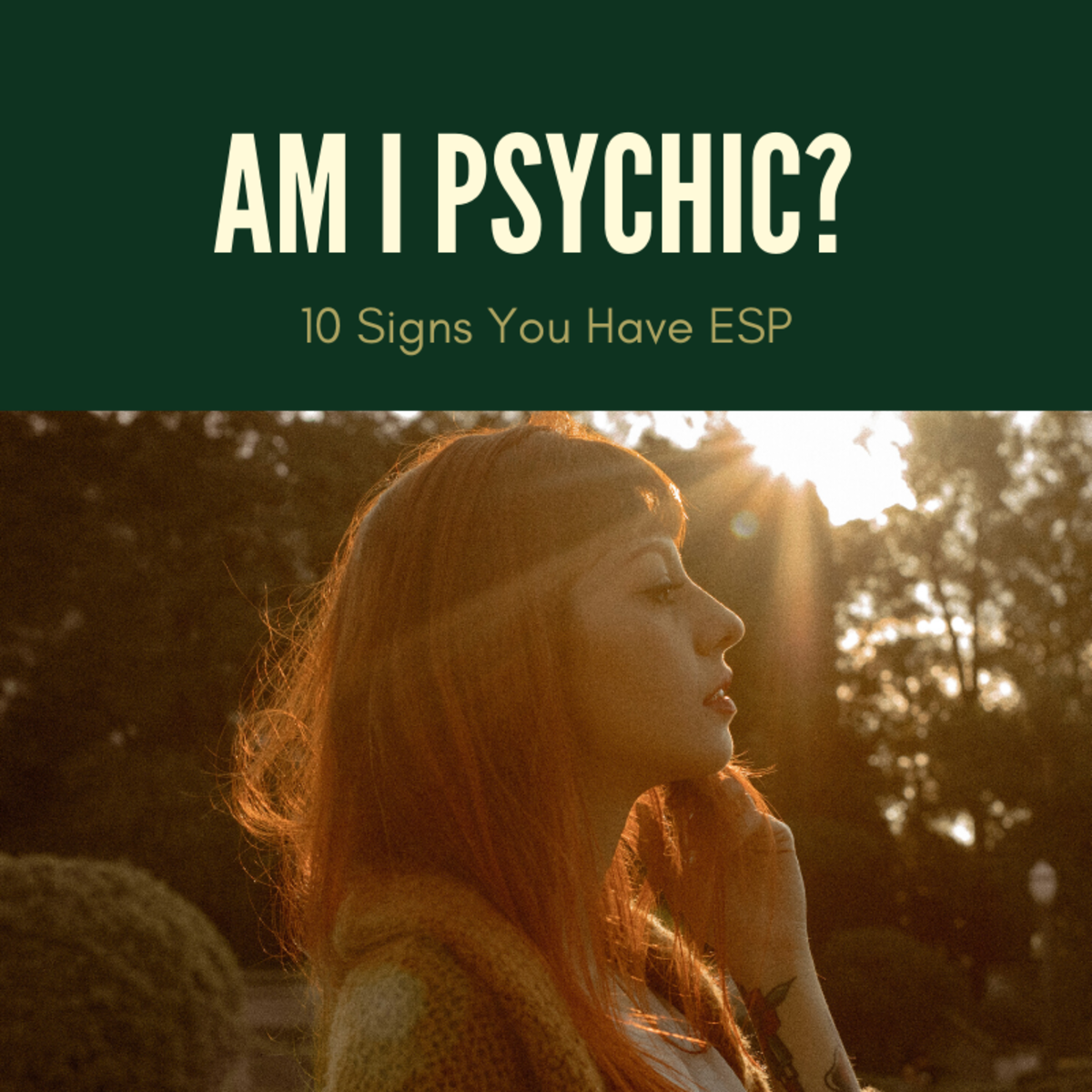 If you've felt like you were always a little different from everyone else, you might be one of the special few who have ESP. Read on to find out more!