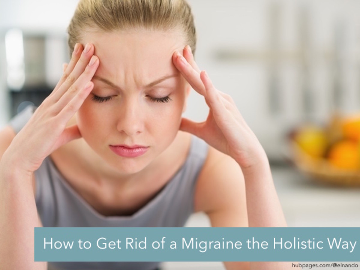 How to Get Rid of a Migraine the Holistic Way
