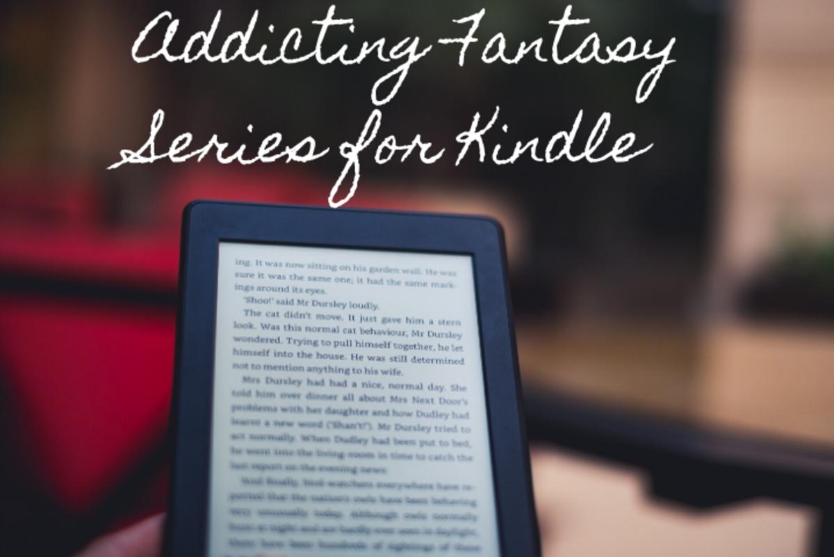 Four Addicting Fantasy Series for Kindle