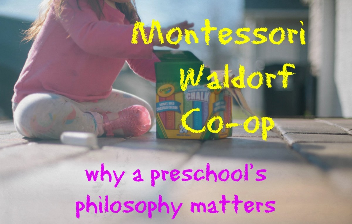 Montessori, Waldorf, & Co-Op: Why a Preschool's Philosophy Matters
