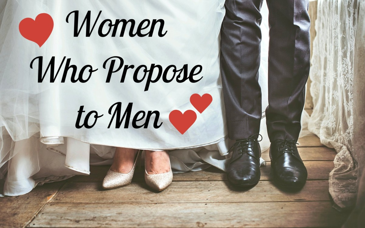 In currently married couples, only 5% involved the woman doing the proposing.