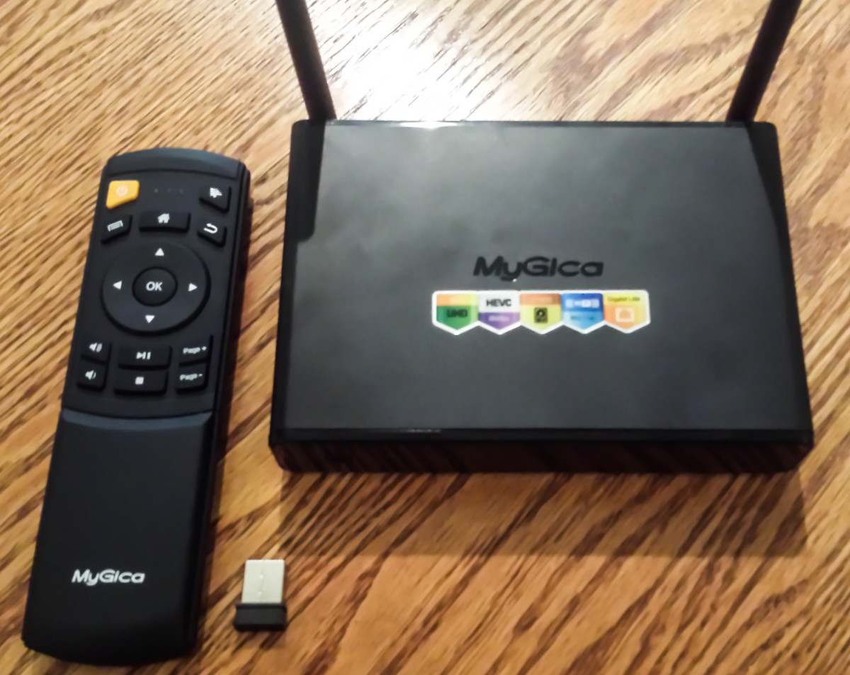 Review: MyGica ATV1900 PRO Android TV Box