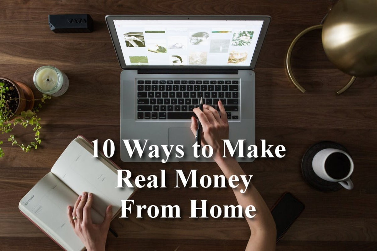 10 Ways to Make Real Money From Home
