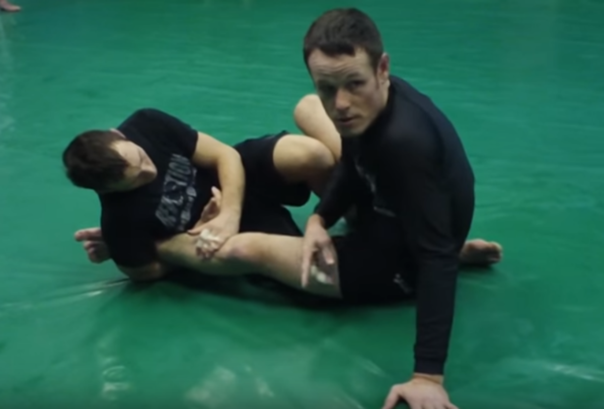 How to Escape the Straight Ankle Lock