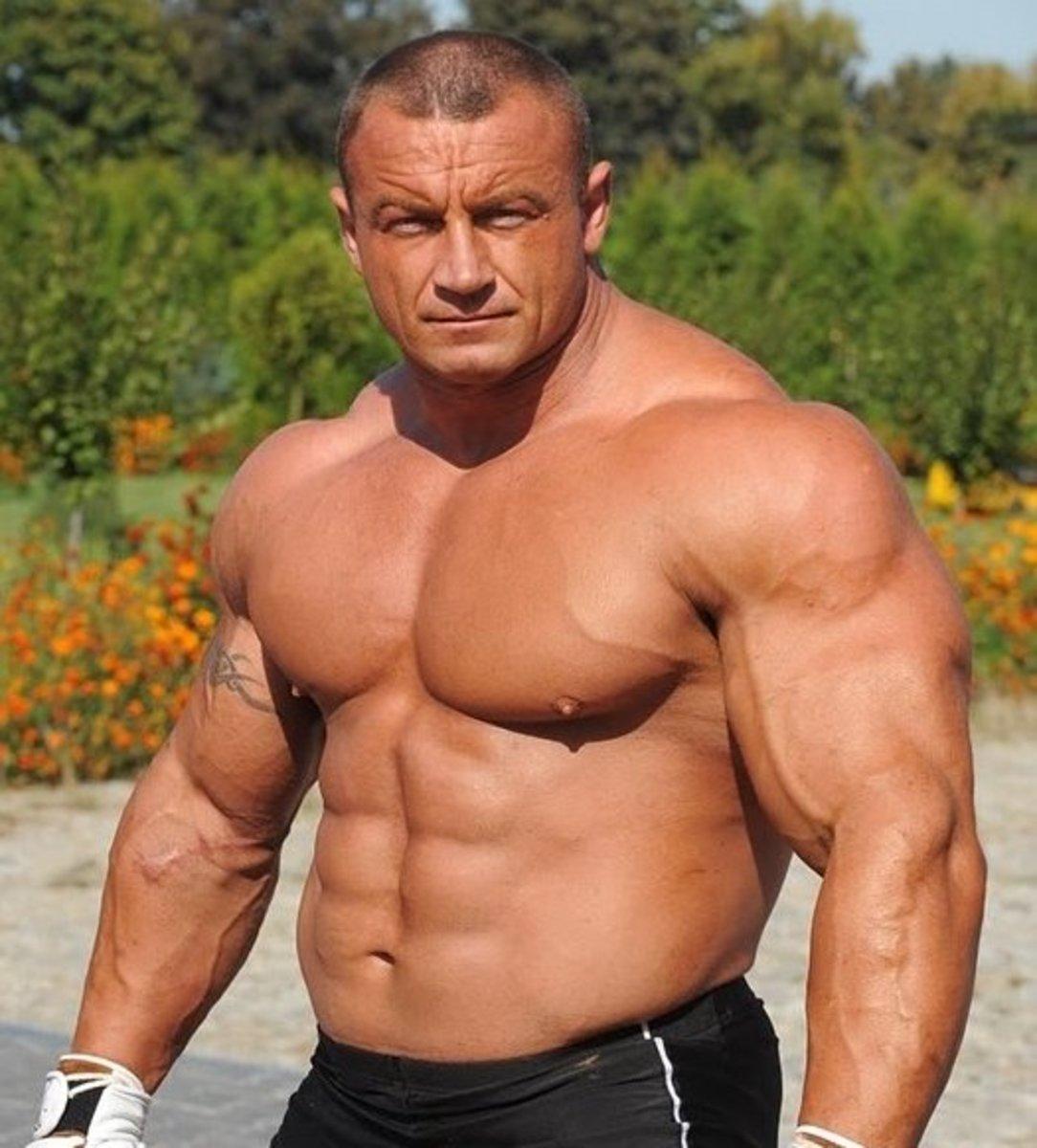 Mariusz Pudzianowski, professional strongman