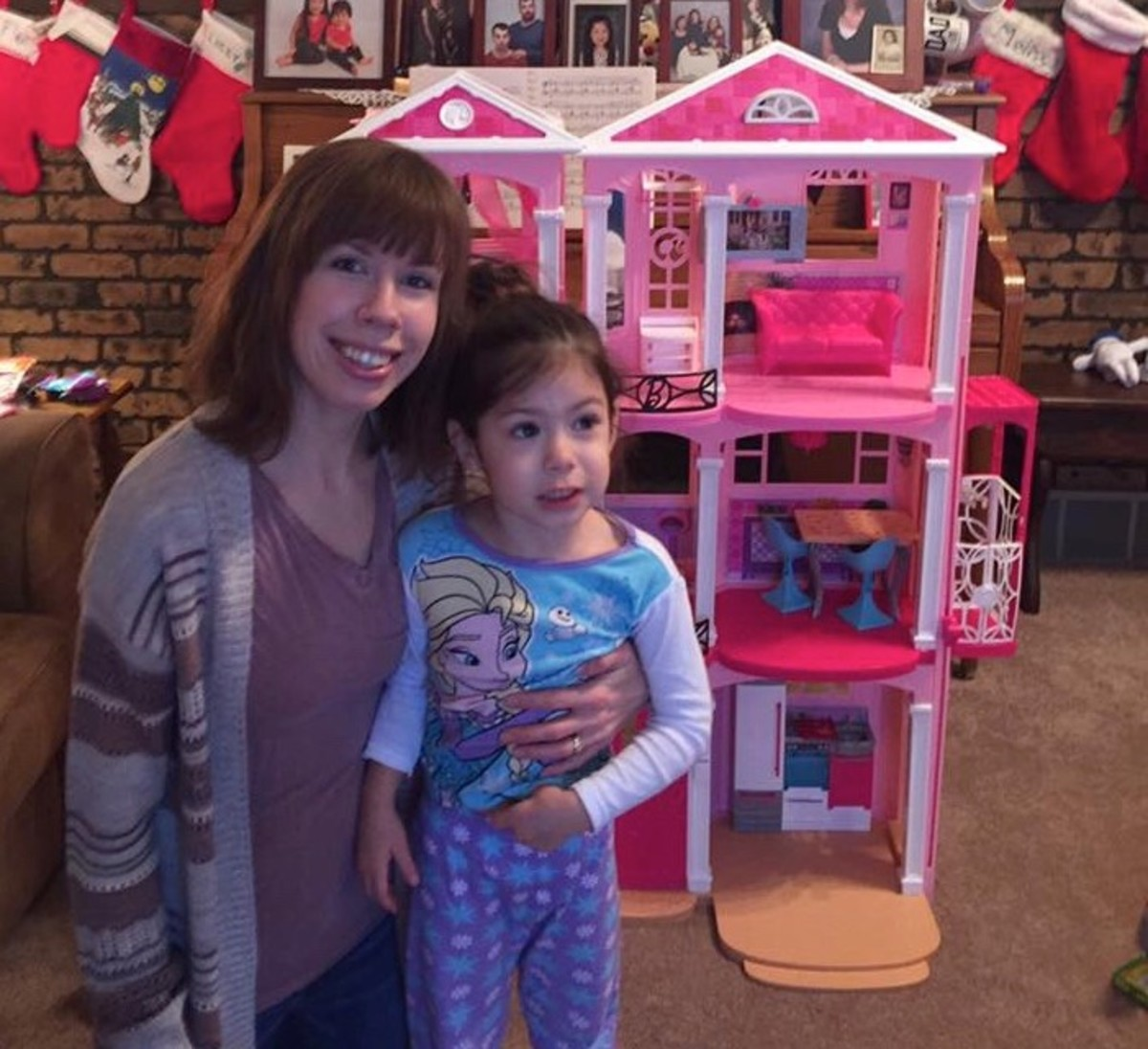 The Barbie Dreamhouse was my daughter's favorite Christmas gift of all time.