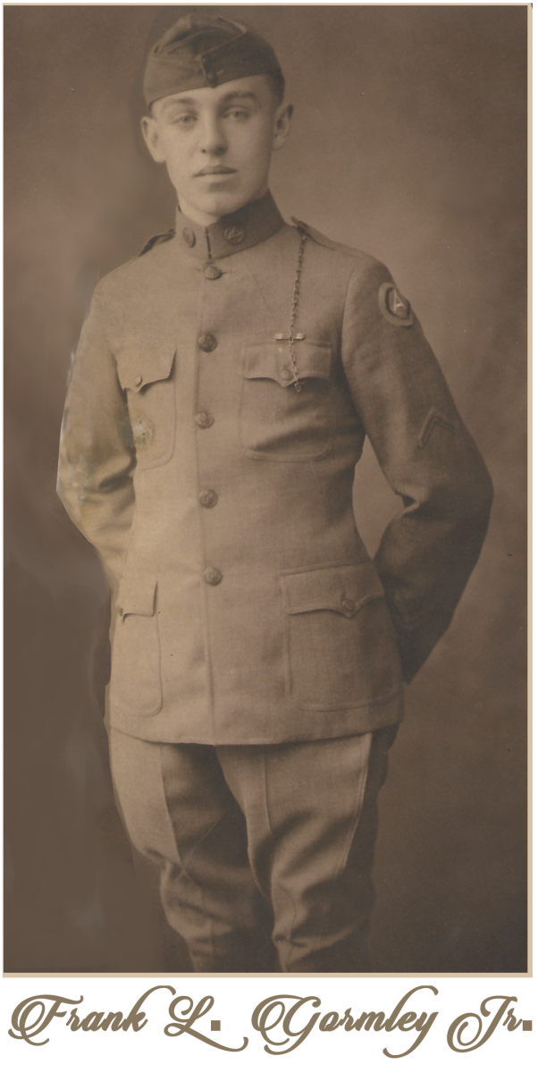 Corporal Frank L. Gormley Jr. 1917