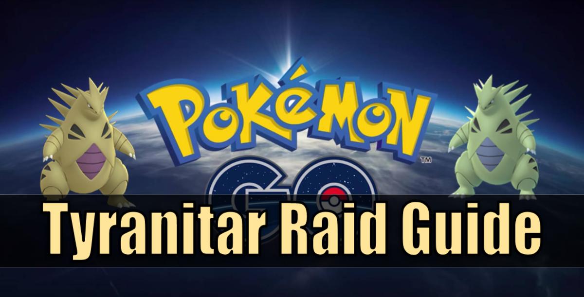 """Pokemon Go"" Tyranitar Raid Guide"