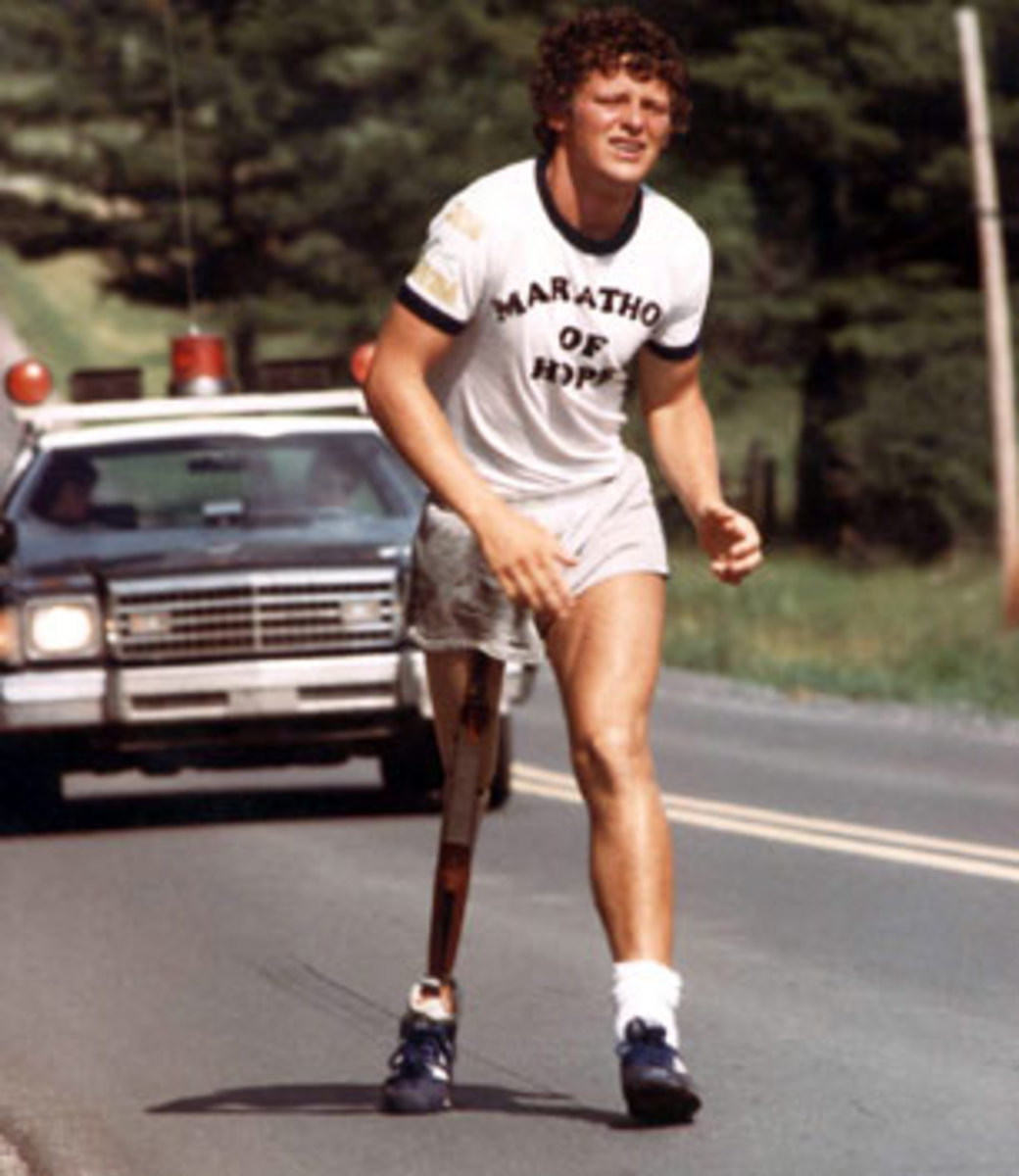 Terry Fox ran halfway across Canada trying to raise money for cancer research when he had only one leg.  Looking to him and other role models will inspire and motivate you.