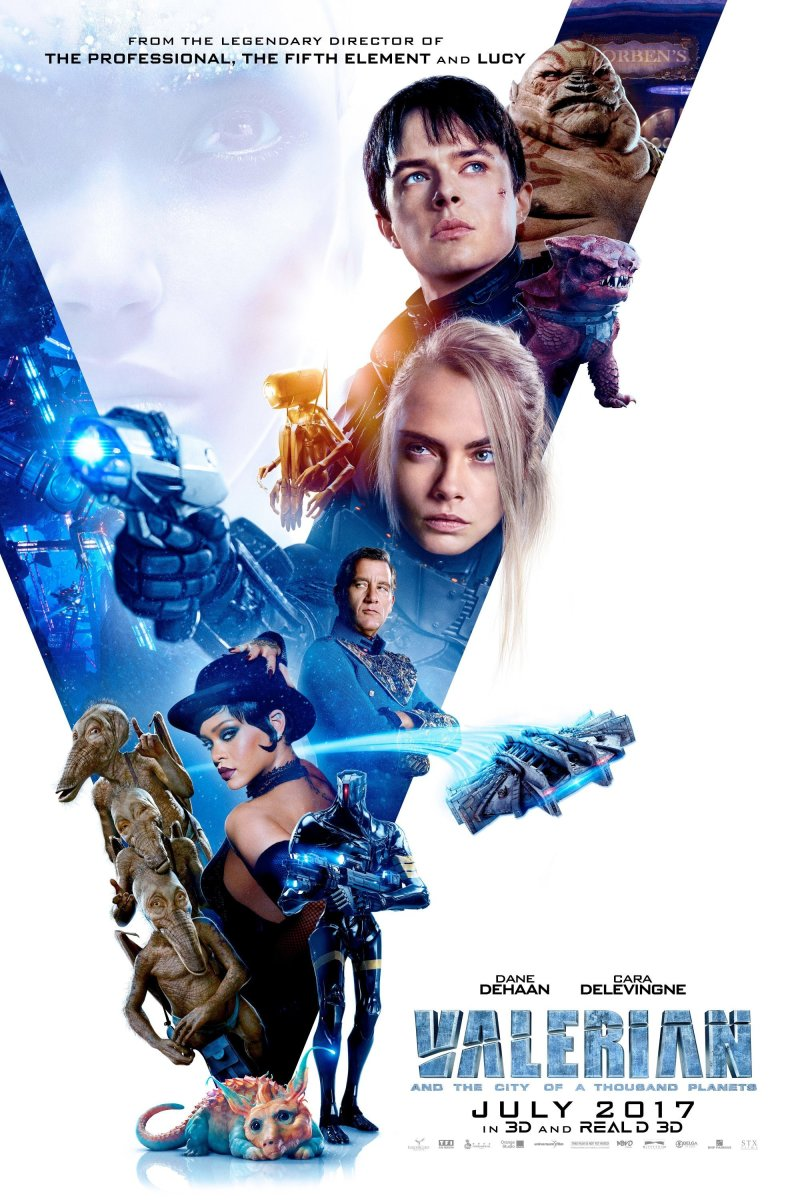 """Valerian and the City of a Thousand Planets"": A Millennial's Movie Review"