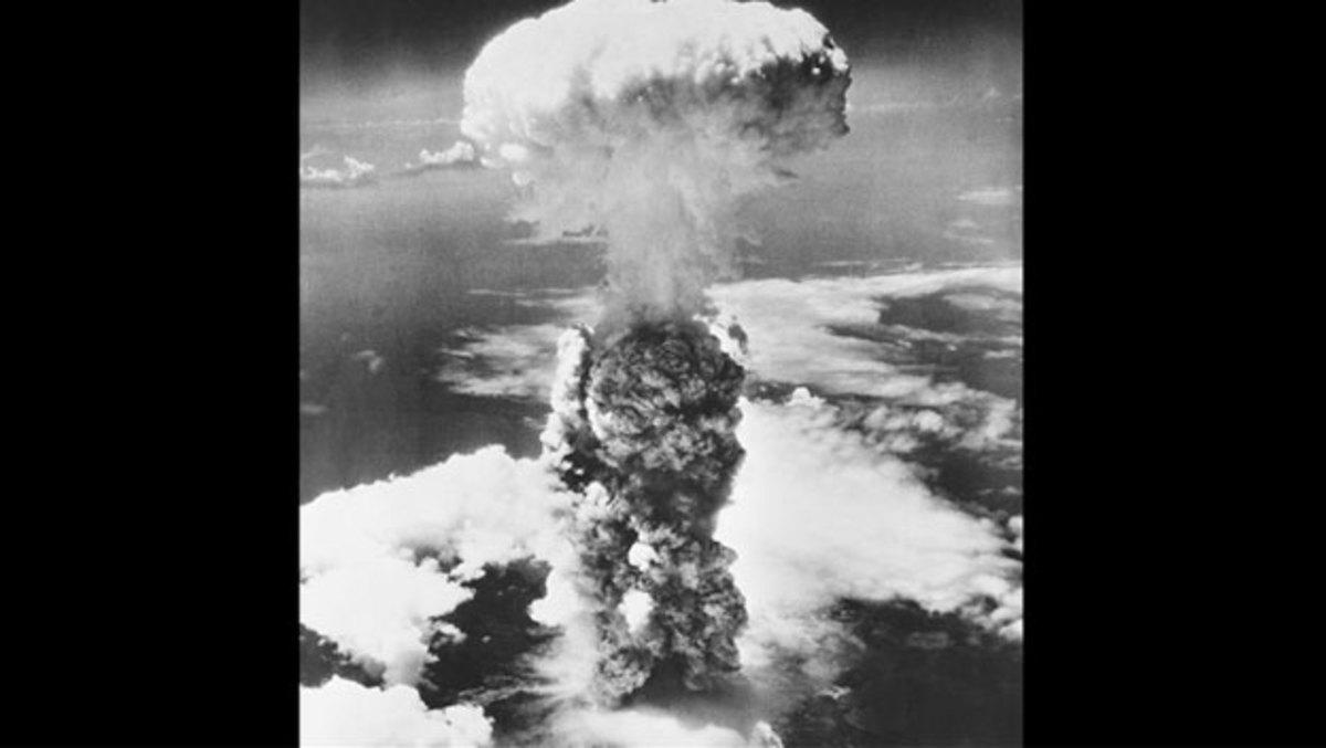 First atomic bomb detonation.
