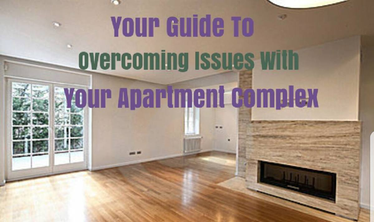 Overcome Issues at Your Apartment Complex