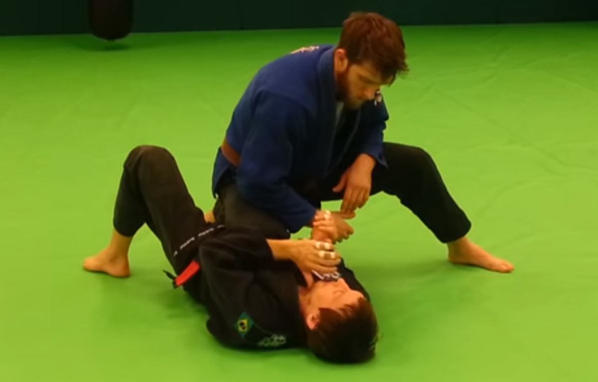 How to Escape Knee-on-Stomach Position in Brazilian Jiu-Jitsu