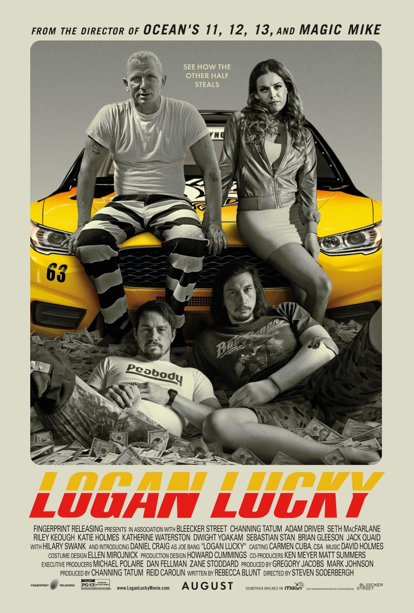 "The official one-sheet theatrical poster for ""Logan Lucky."""