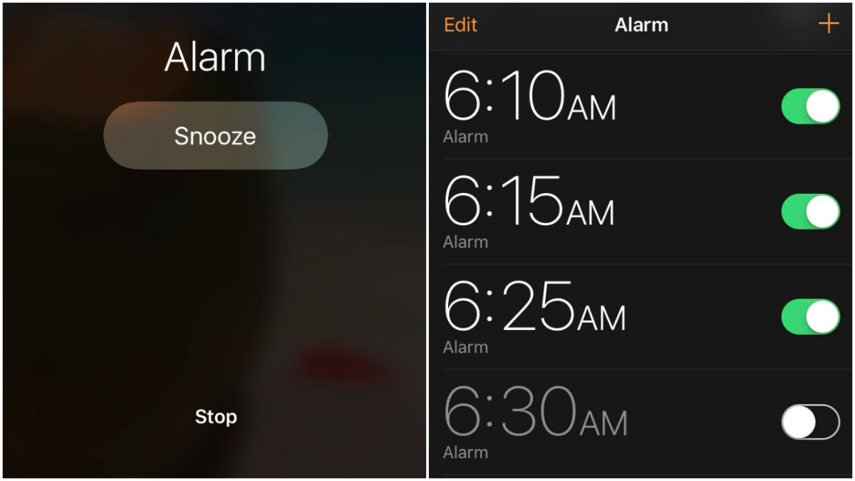 How NOT to wake up