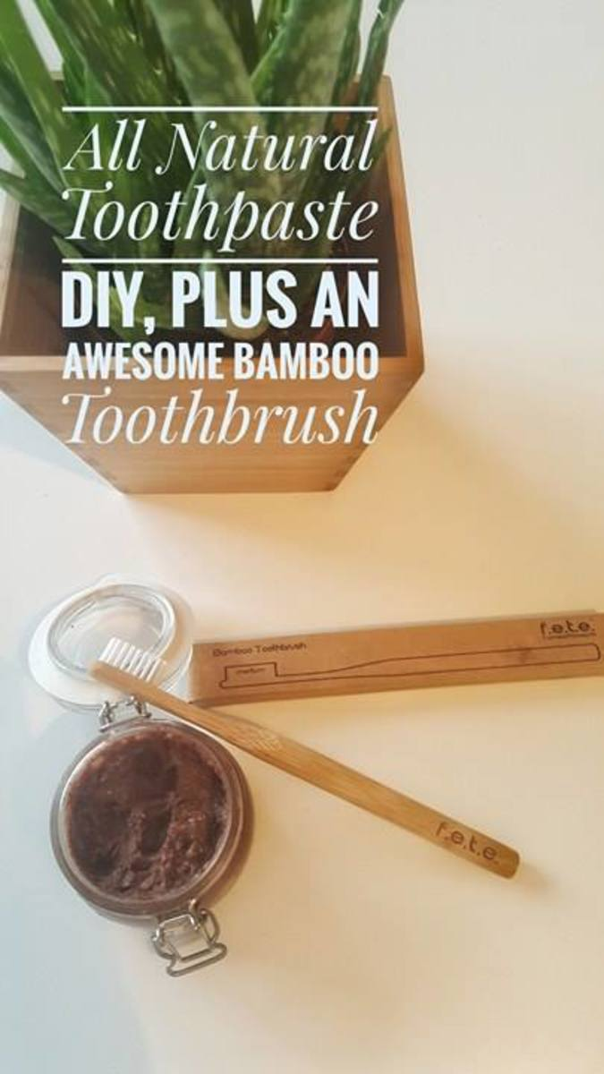 DIY All-Natural Three-Ingredient Toothpaste Recipe
