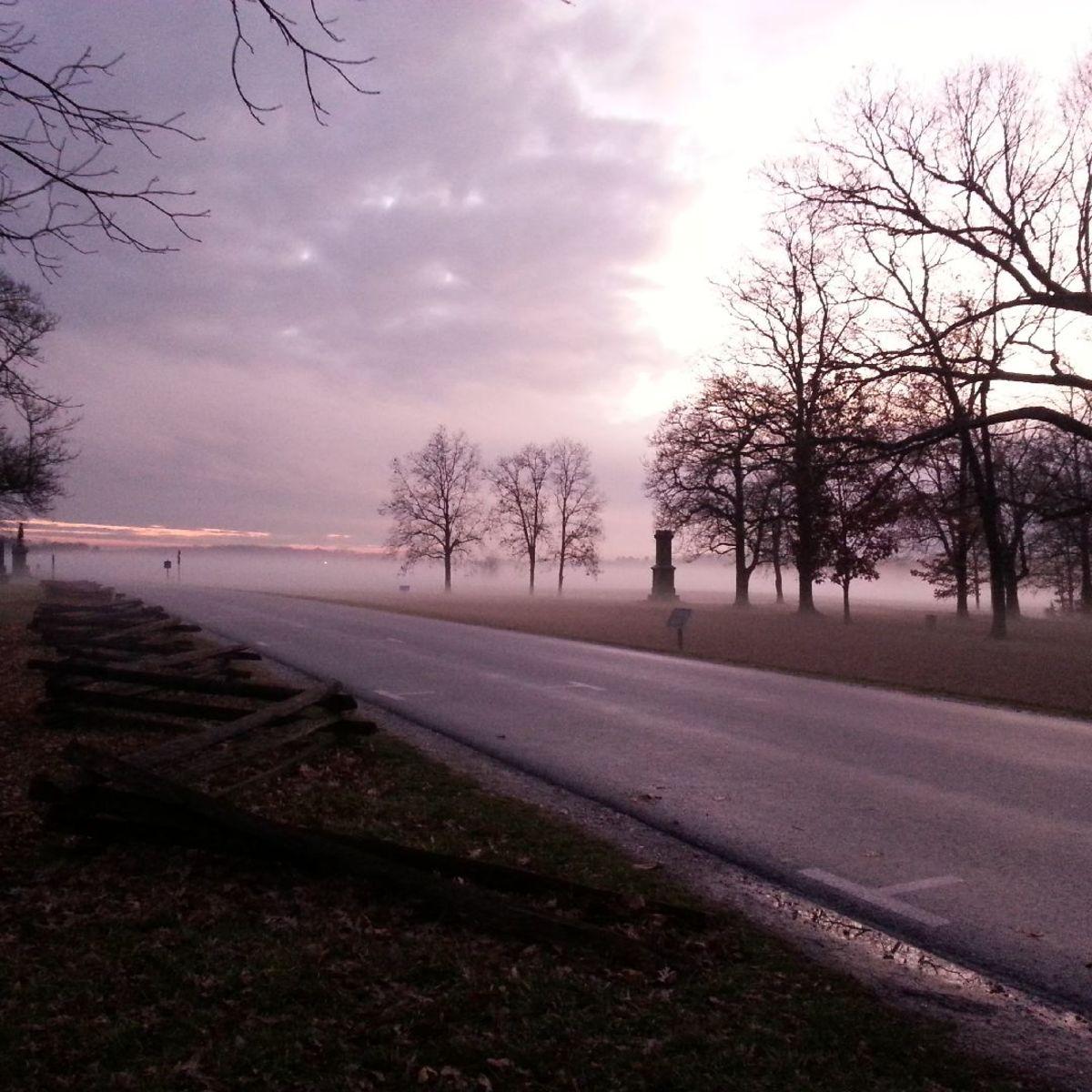 November in Gettysburg
