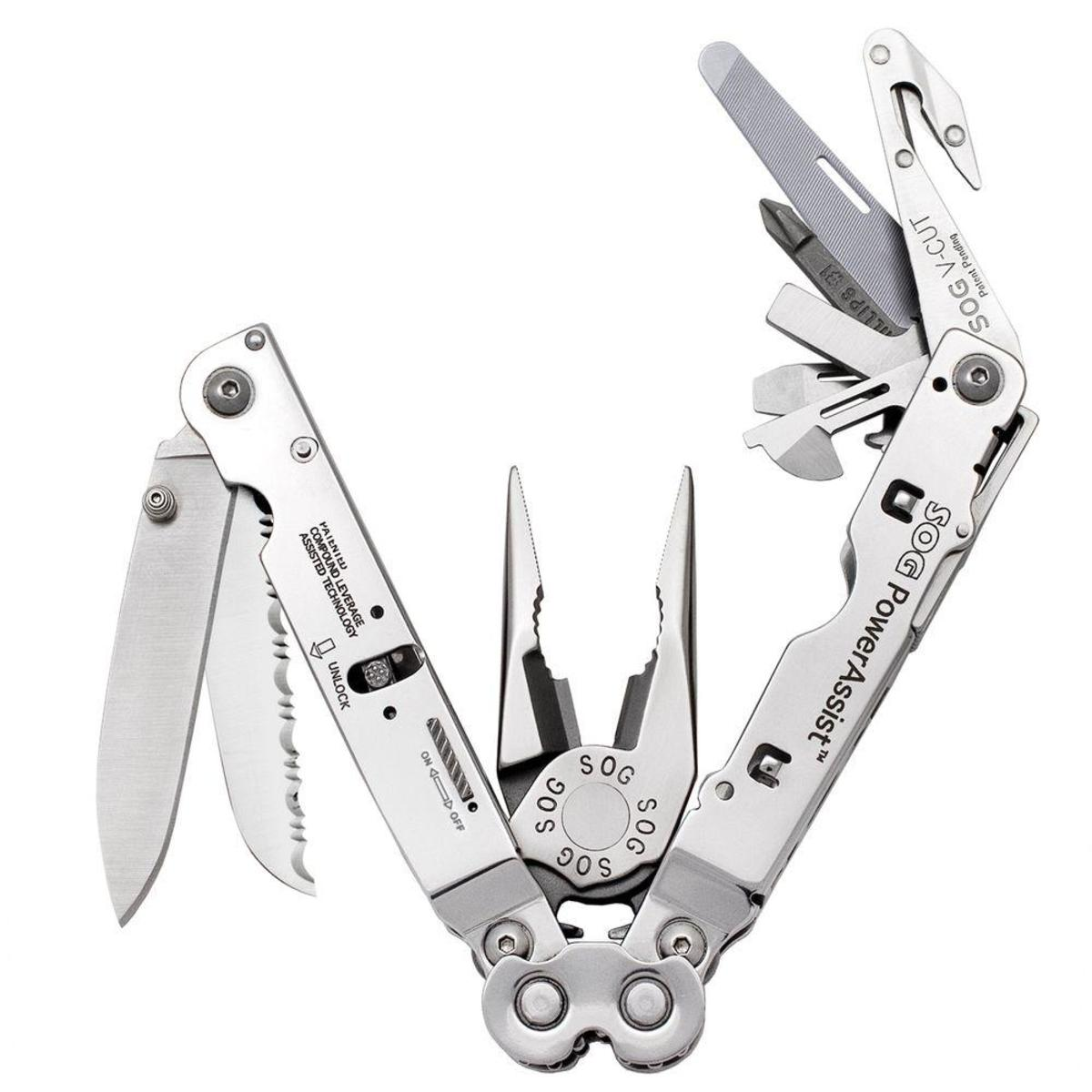 SOG PowerAssist Multi-Tool: Southpaw Approved