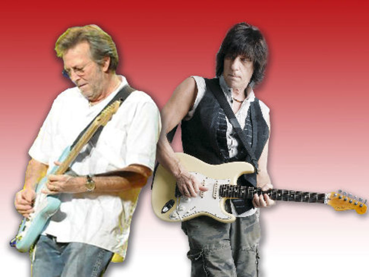 Fender Artist Series Stratocasters: Eric Clapton  Vs. Jeff Beck