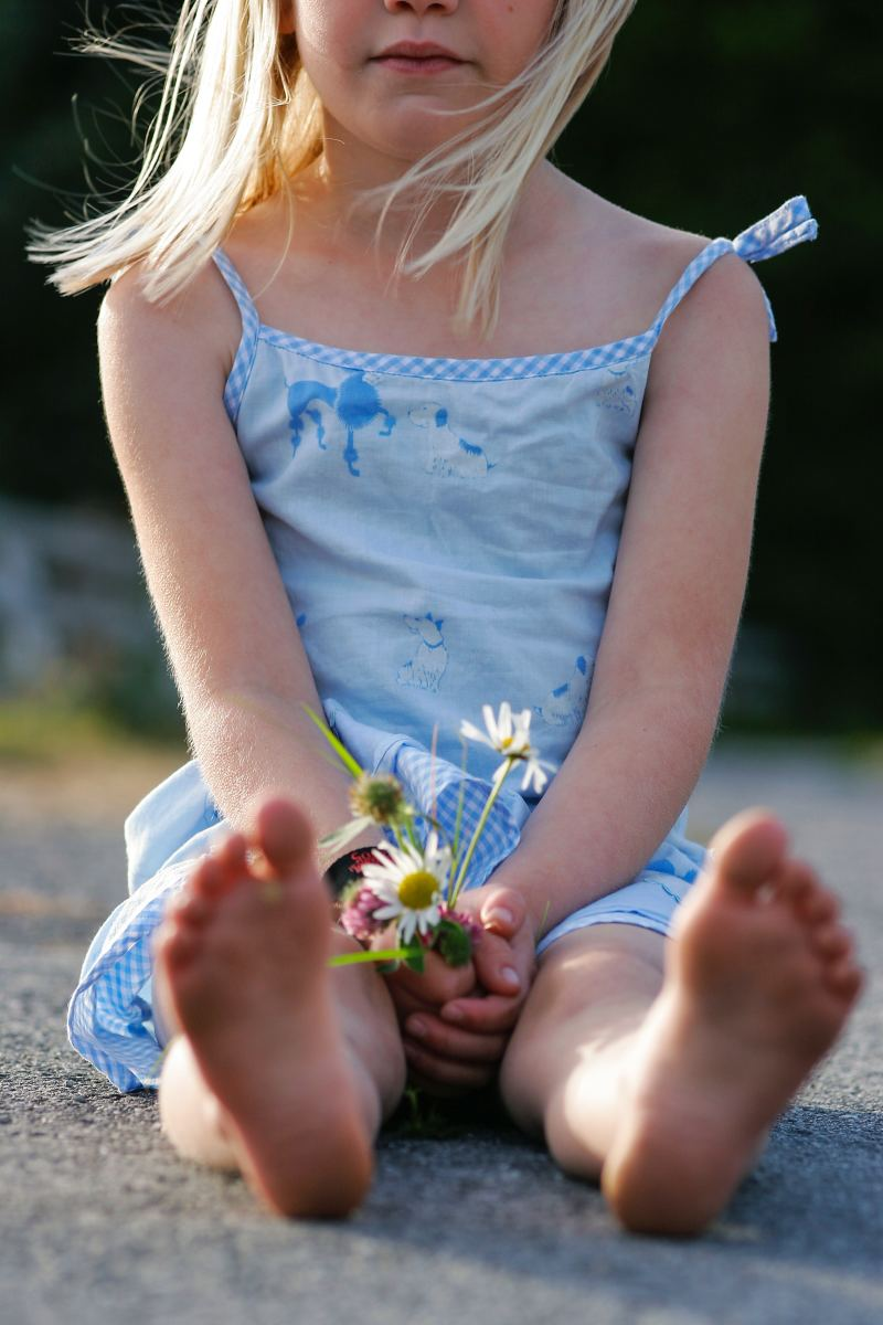 Healing Your Inner Child and Giving Her a Flower