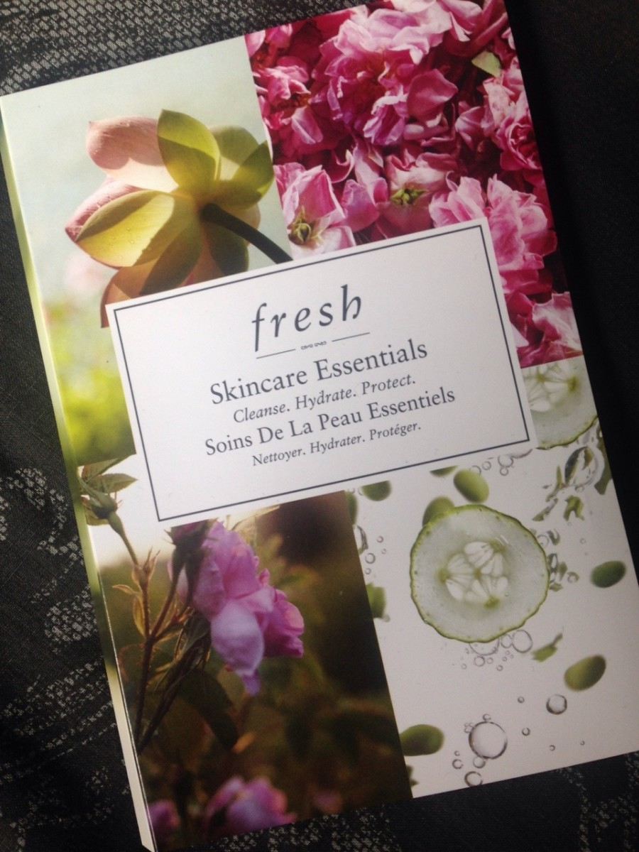 Fresh skincare products