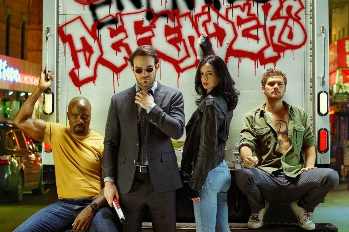 Marvel's The Defenders Earth's Whiniest Heroes
