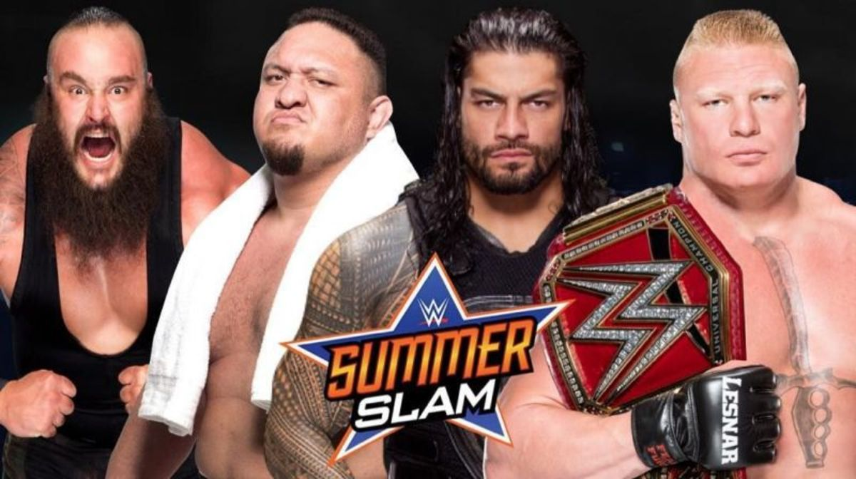 WWE Summerslam 2017 Review