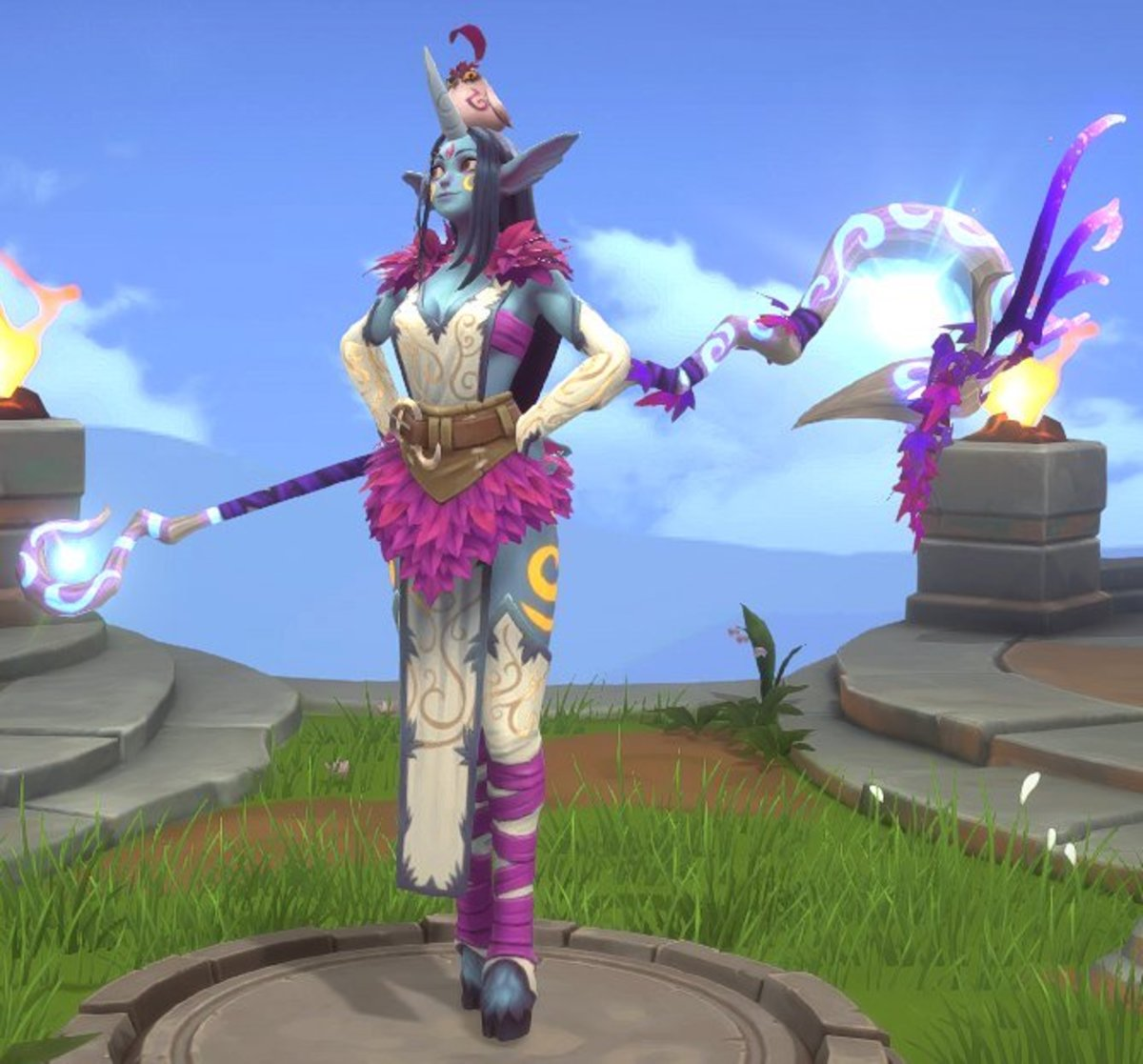 Legendary Blossom skin with weapon.