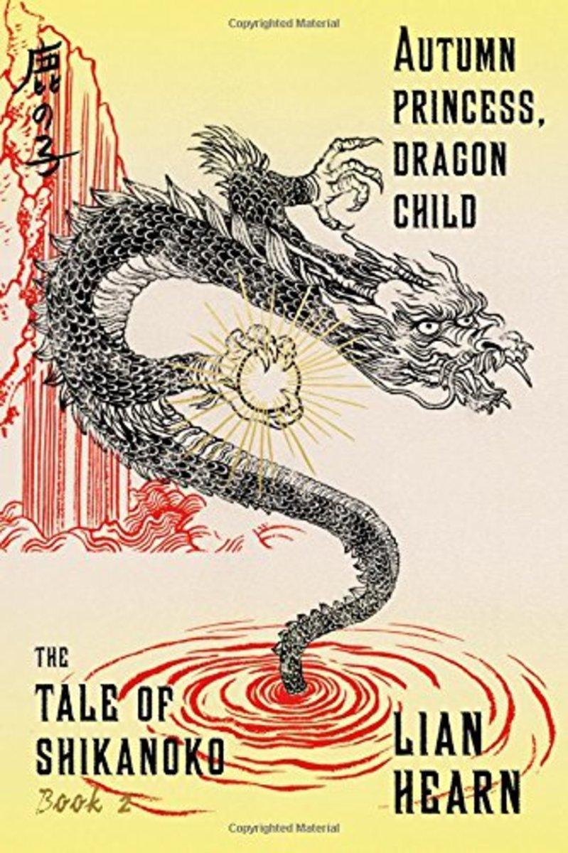 Cover art for Autumn Princess, Dragon Child.
