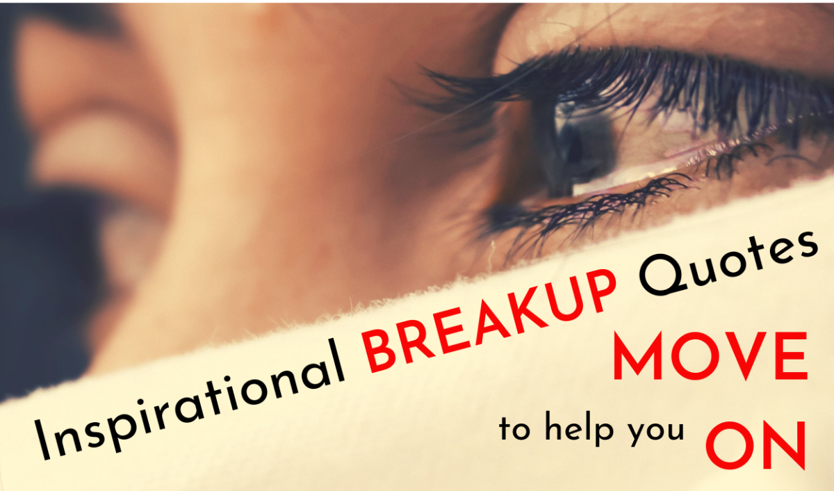 Breakup quotes can help you heal faster.