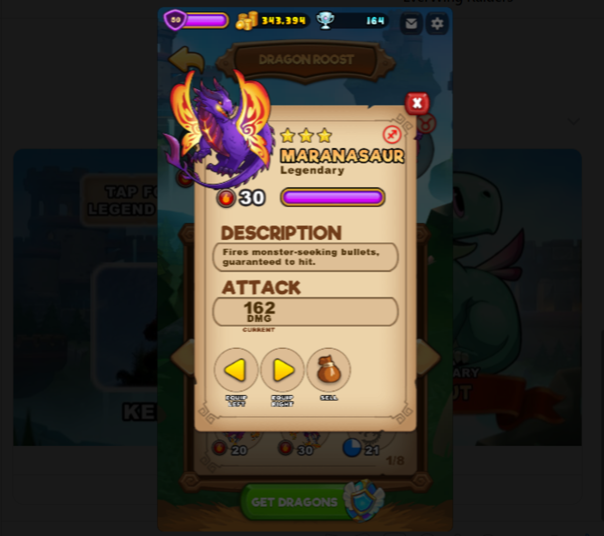 EverWing Tip: Get More Legendary Dragons
