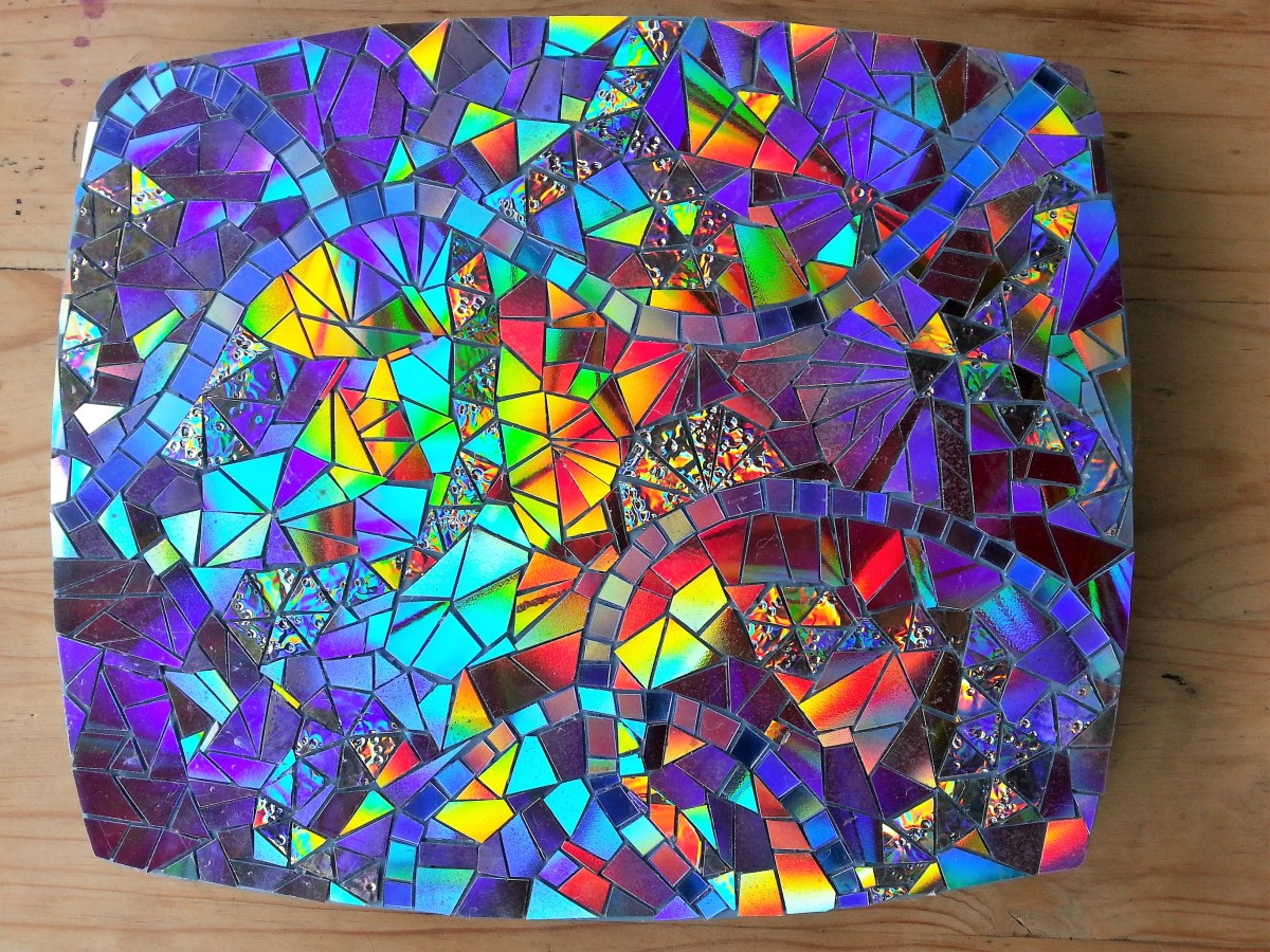 Tips and Ideas for Crafting With Recycled DVDs