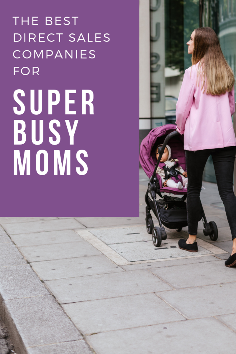 These companies may be good fits for a mom's busy schedule.