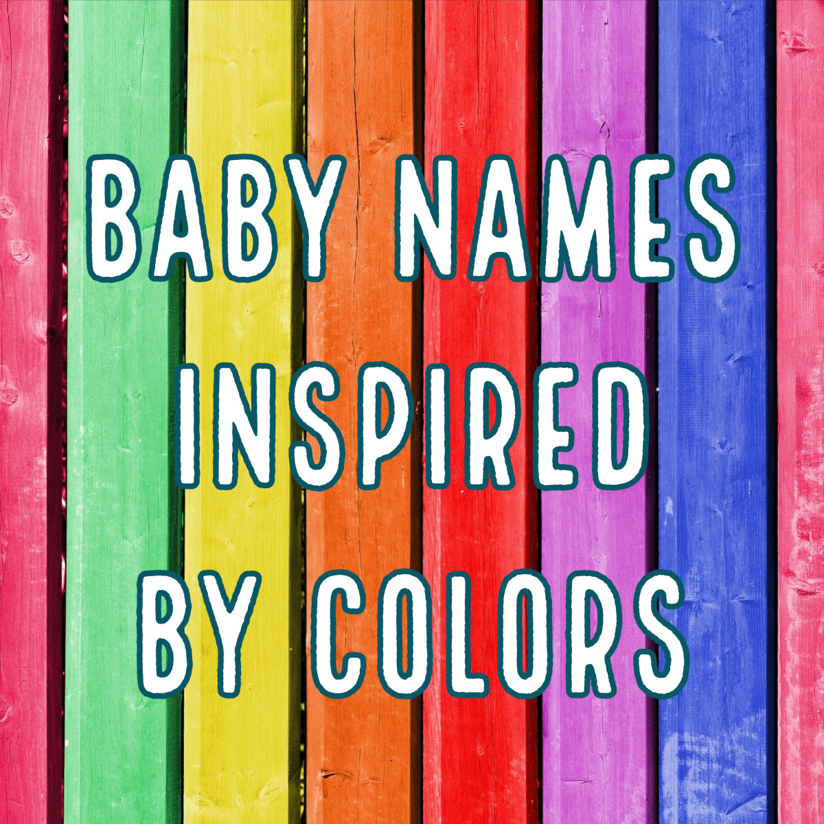 The Full Spectrum of Unique Color Names for Babies