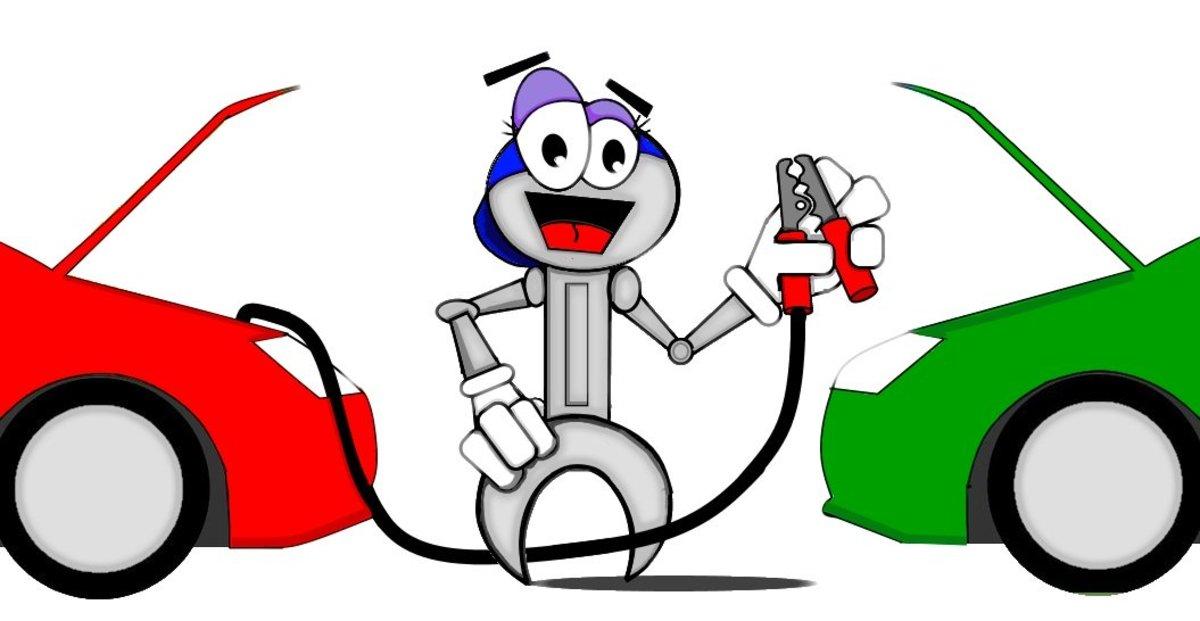Learn how to jump start your car safely when jumping someone else's battery, so that both your batteries come out alive!