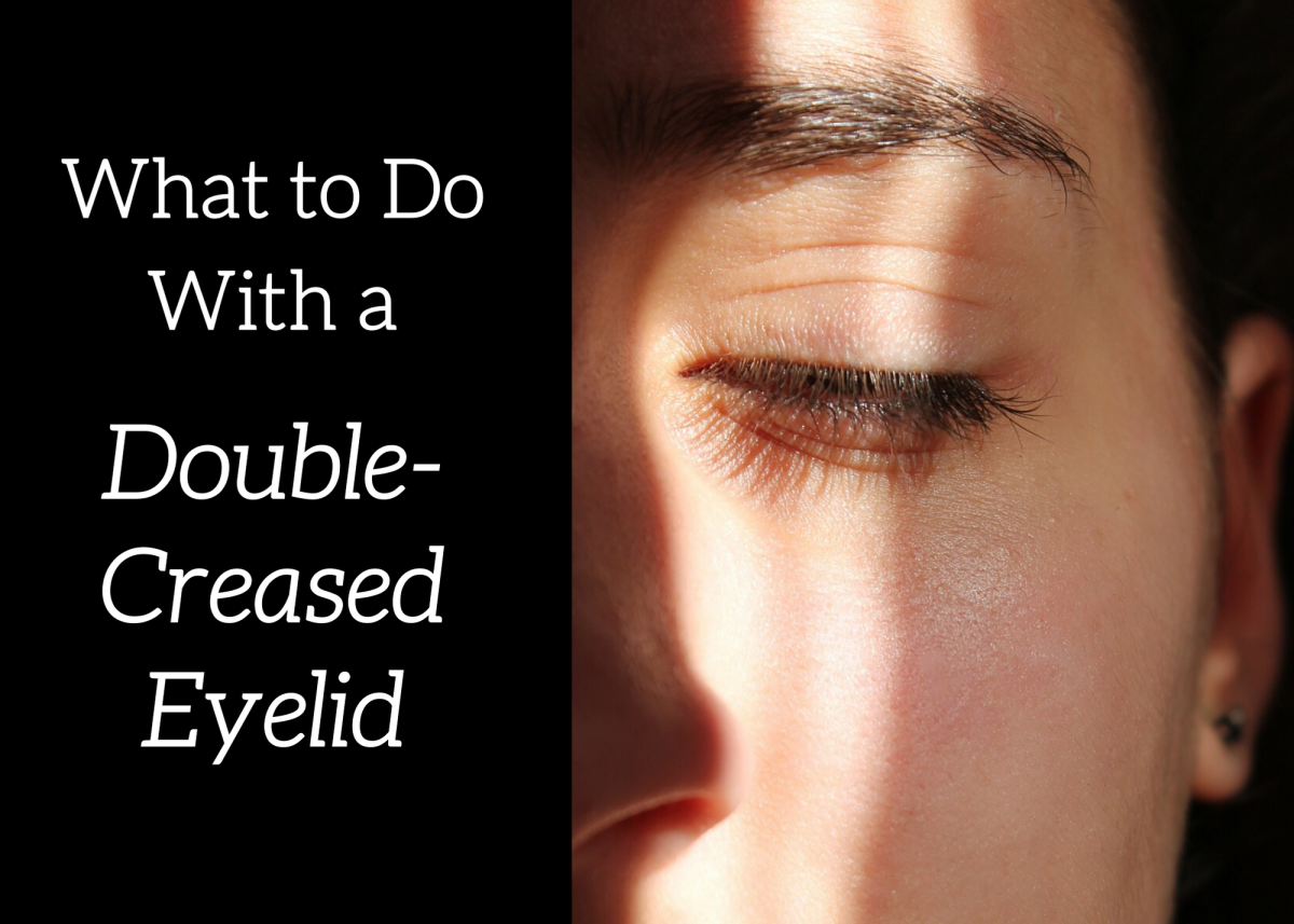 Get some advice on what to do if you wake up with a double-creased eyelid.
