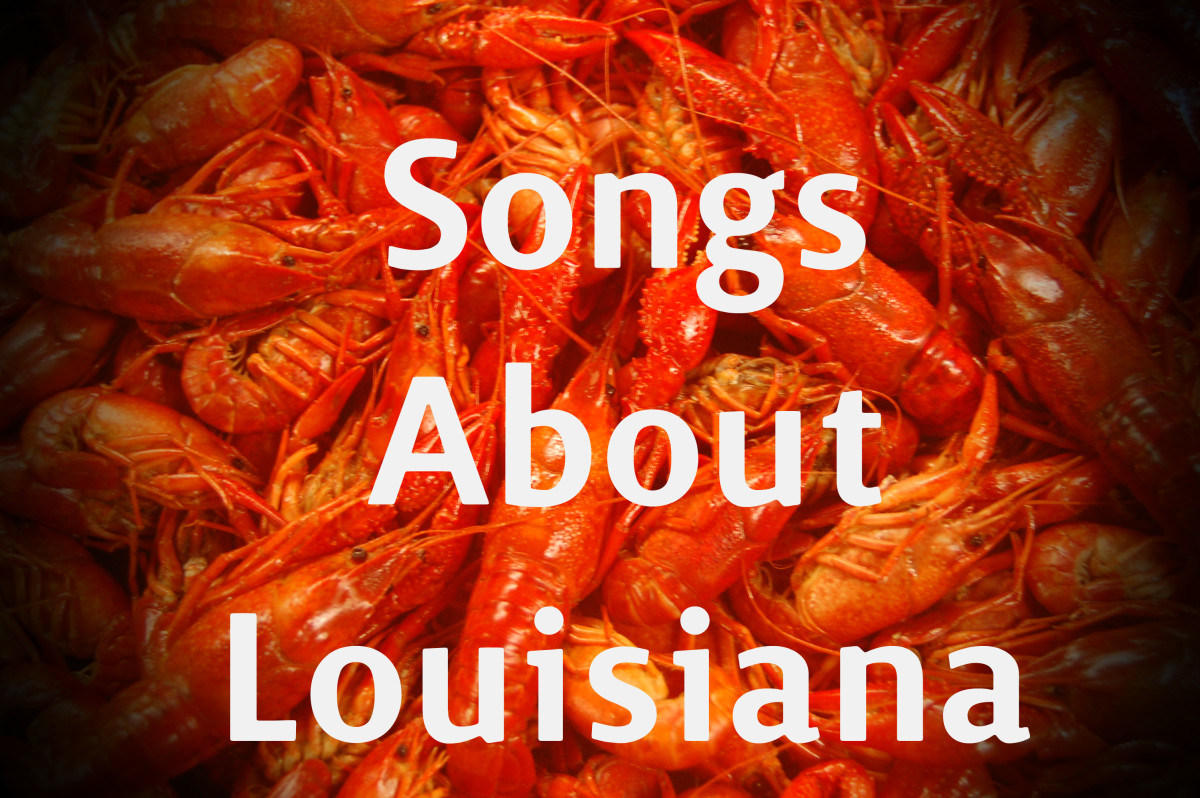 48 Songs About Louisiana