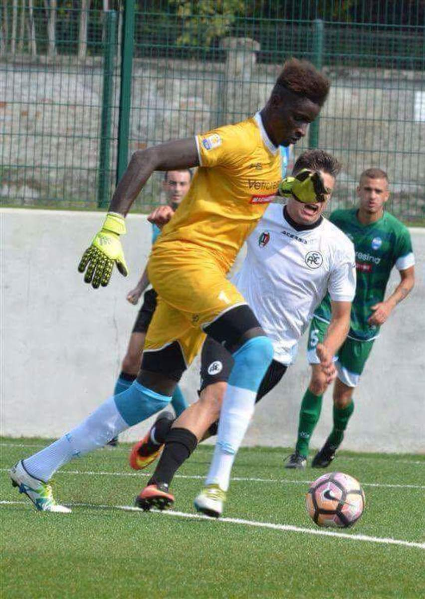 Demba Thiam went through the Italian Primavera league with eight games where he didn't allow any goals.