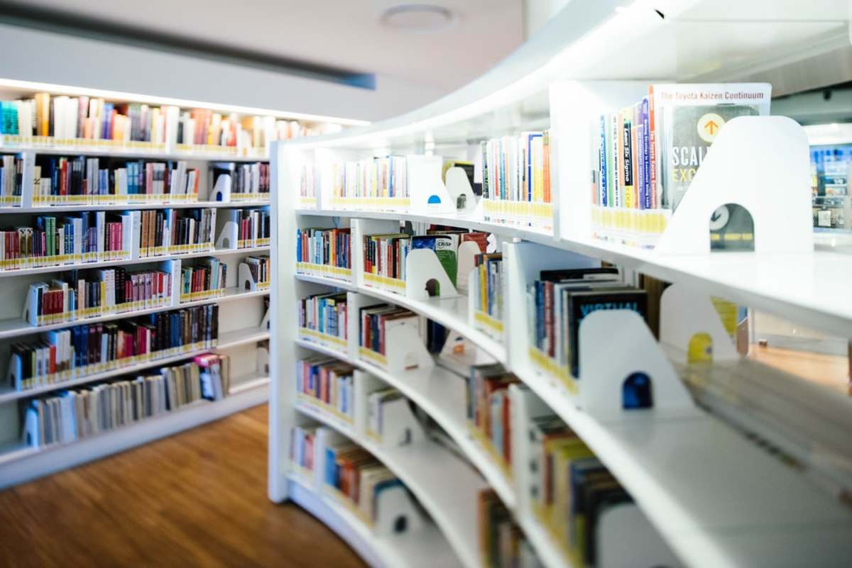 A library.