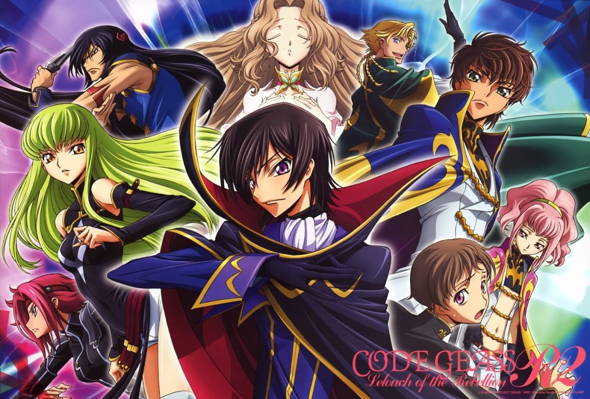 Image result for Code Geass: Lelouch of the Rebellion