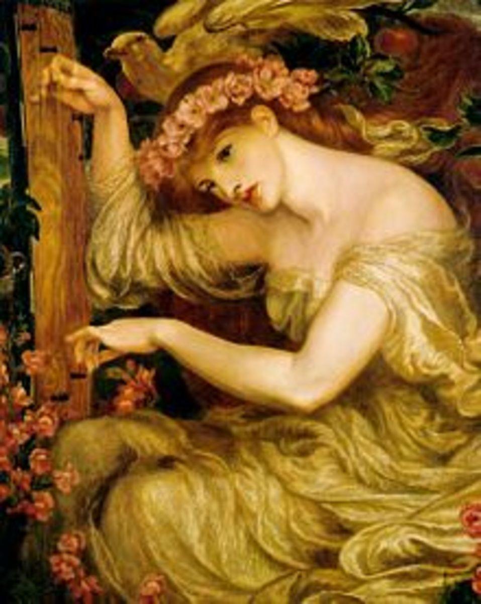 Tam Lin (A Sea-Spell, 1877, Dante Gabriel Rossetti)
