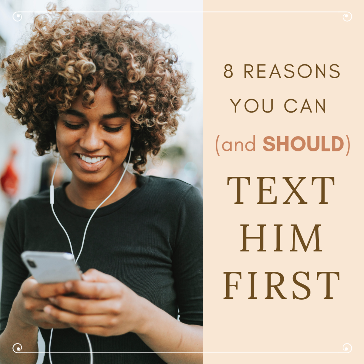 Contrary to popular belief, there's nothing wrong with texting a guy first. In fact, it can have quite a few benefits!