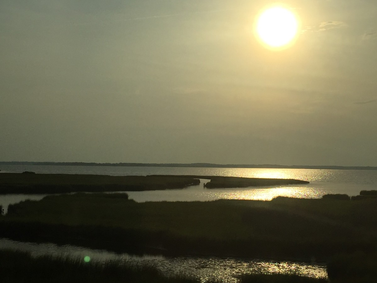 Ocean City, MD. at Sunset
