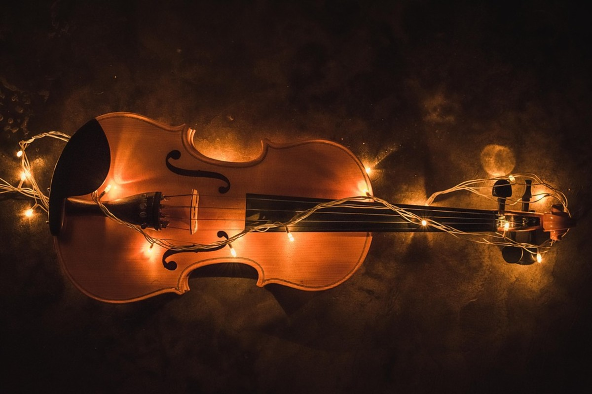Music for Solo Violin and Orchestra With Descriptive Titles