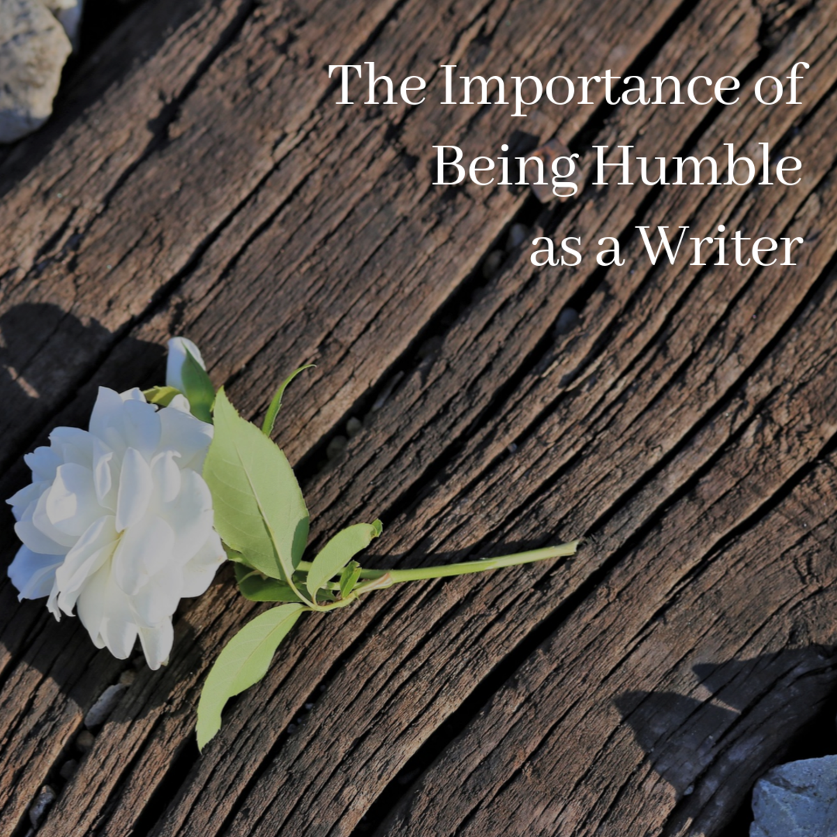 Humility is an absolutely vital characteristic if you plan on being a great writer.